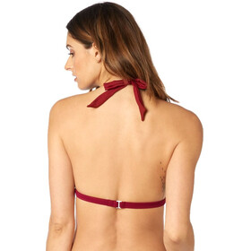 Fox Rodka Fixed Swim-Top Women dark red